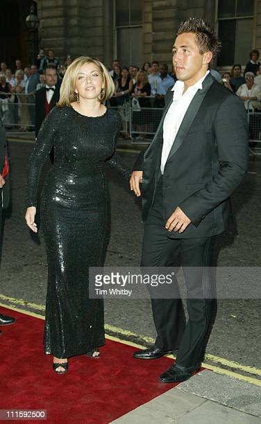 Charlotte Church and Gavin Henson during 2005 GQ Men of the Year Awards Outside Arrivals at Royal Opera House in London Great Britain