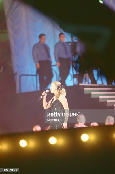 Charlotte Church appearing at Showtime at The Millennium Stadium Cardiff Wales United Kingdom Concert featuring many of the pop stars of 2001 Picture...