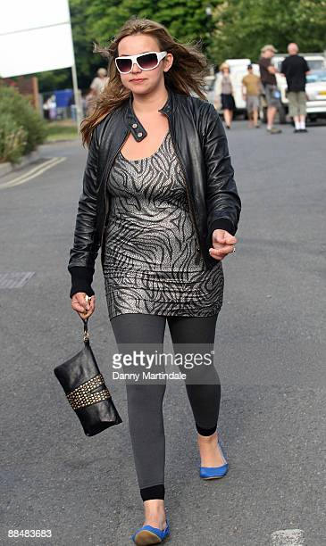 Charlotte Church attends day three of the Isle of Wight Festival at Seaclose Park on June 14 2009 in Newport Isle of Wight