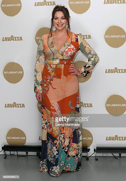 Charlotte Church attends The Roundhouse Gala at The Roundhouse on March 19 2015 in London England