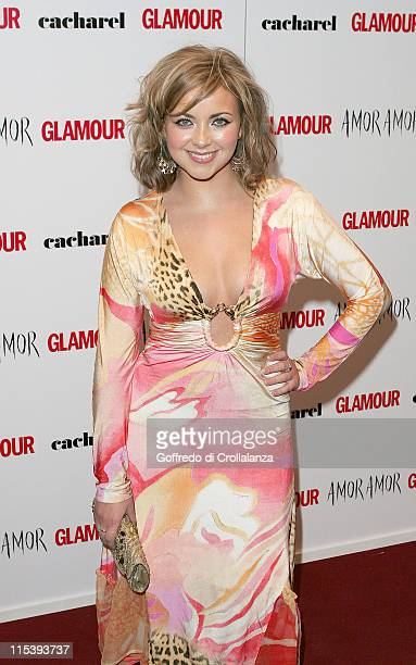 Charlotte Church during 2005 Glamour Women of the Year Awards Arrivals at Berkley Square in London Great Britain
