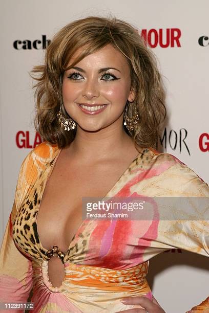 Charlotte Church during 2005 Glamour Women of the Year Awards Inside Arrivals at Berkeley Square in London Great Britain
