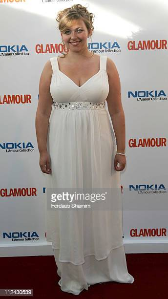 Charlotte Church during 4th Annual Glamour Women Of The Year Awards Arrivals at Berkeley Square Gardens in London Great Britain