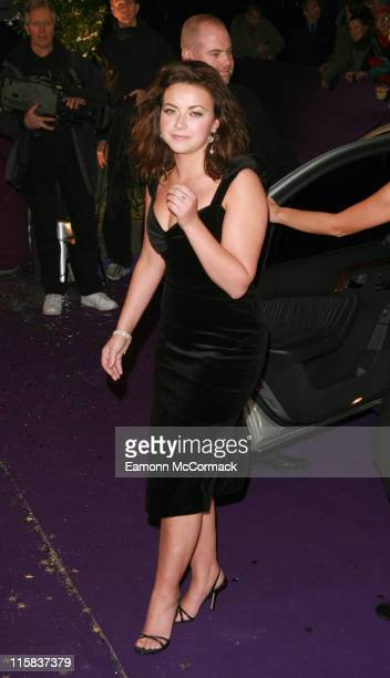Charlotte Church during British Comedy Awards 2006 Outside Arrivals at London Television Studios in London Great Britain