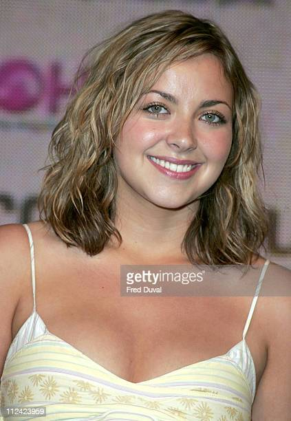 Charlotte Church during Charlotte Church InStore Performance and Album Signing for 'Issues and Tissues' at HMV in London July 12 2005 at HMV at...