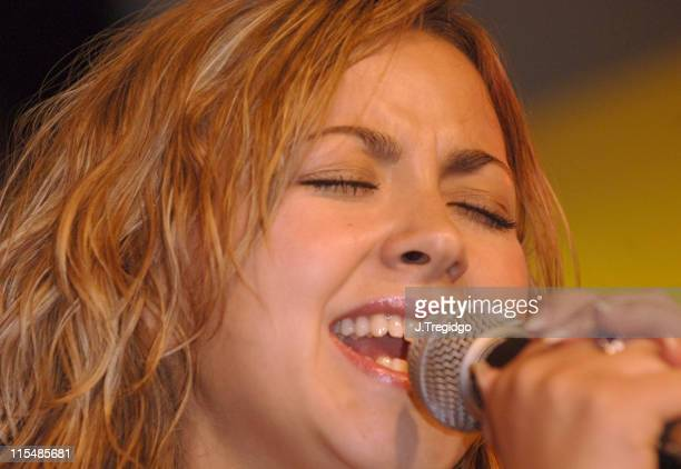 Charlotte Church during Charlotte Church InStore Performance and Album Signing for 'Issues and Tissues' at HMV in London July 12 2005 at HMV in...