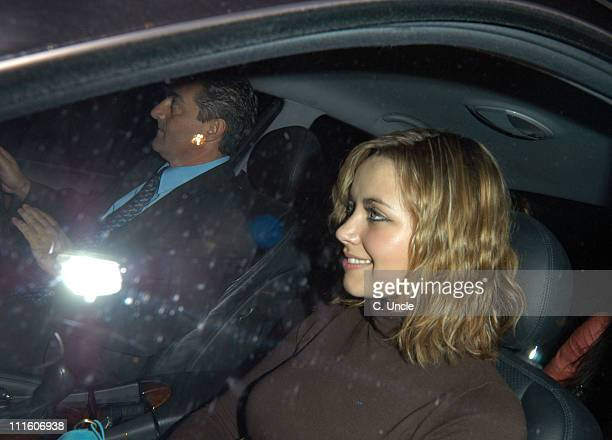 Charlotte Church during Charlotte Church Sighting in London April 20 2005 at Funky Buddha Club in London Great Britain