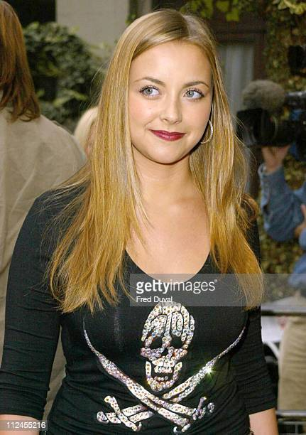 Charlotte Church during Mercury Prize 2003 at Grosvenor Park Hotel in London Great Britain