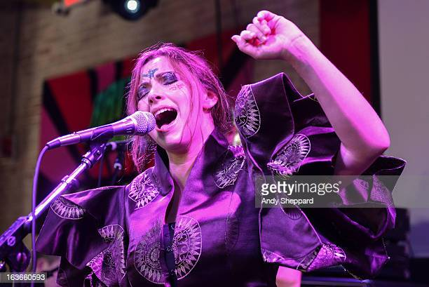 Charlotte Church performs on stage during Day 2 of SXSW 2013 Music Festival on March 13 2013 in Austin Texas