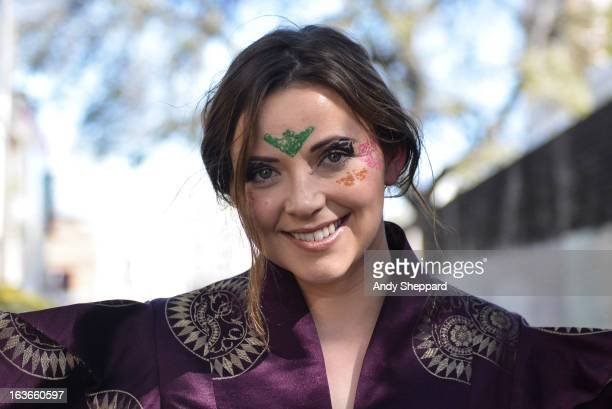 Charlotte Church posed backstage during Day 2 of SXSW 2013 Music Festival on March 13 2013 in Austin Texas