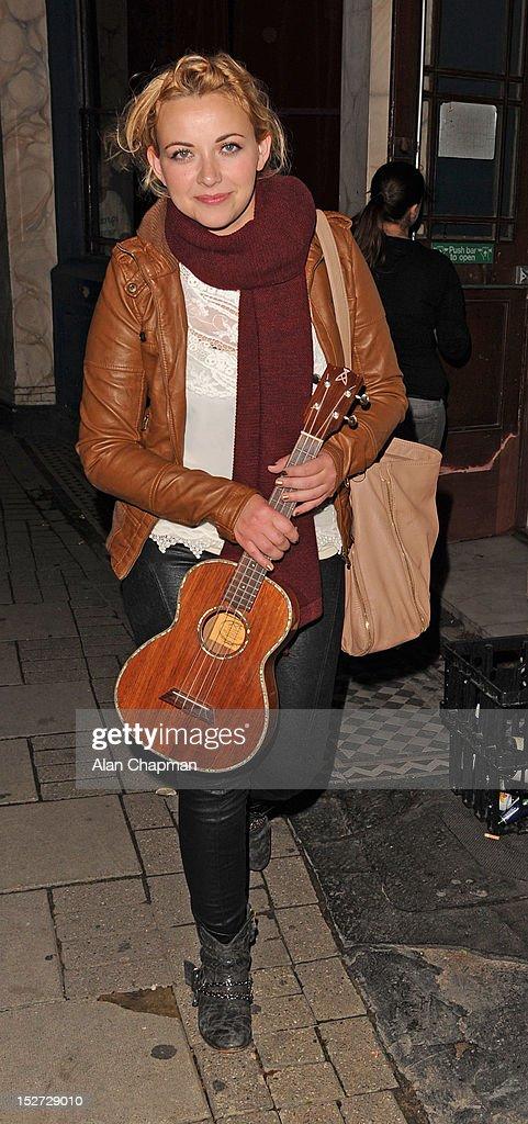 Charlotte Church Sighting In London - September 24, 2012
