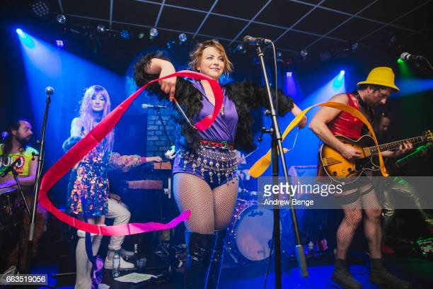 Charlotte Church's Late Night Pop Dungeon perform at Brudenell Social Club on April 1 2017 in Leeds England