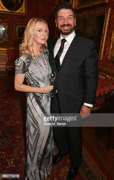 Charlotte Cochrane and Nick Knowles attend the World Premiere of the Vertex M100 and the reLaunch of Vertex Watches at Apsley House on March 30 2017...
