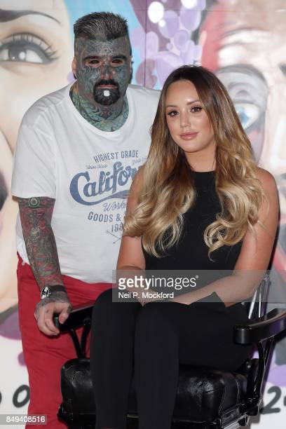 Charlotte Crosby at the 'Just Tattoo Of Us Can You Deal With The Reveal' popup tattoo parlour on September 19 2017 in London United Kingdom