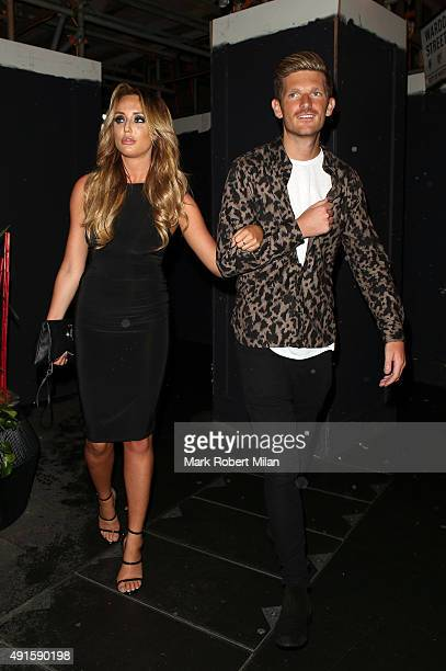 Charlotte Crosby attending the Mark Hill launch party at the W hotel on October 6 2015 in London England