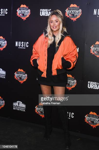 Charlotte Crosby attends the press night for Shocktober Fest at Tulleys Farm on October 5 2018 in Crawley West Sussex