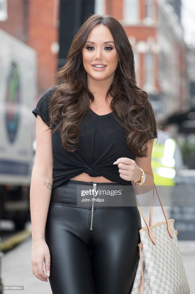 Charlotte Crosby during 'The Charlotte Show' photocall at Charlotte Street Hotel on March 13, 2018 in London, England.