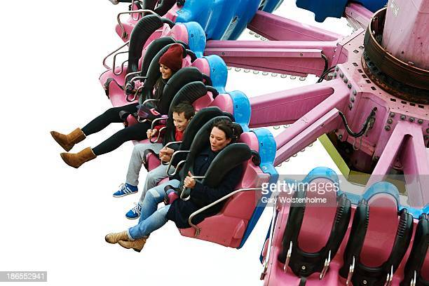 Charlotte Crosby is seen at Fantasy Island theme park on November 1 2013 in Skegness England