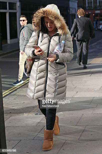 Charlotte Crosby sighting on November 2 2016 in London England