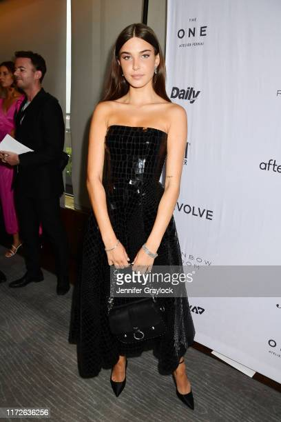 Charlotte D'Alessio attends The Daily Front Row's 7th annual Fashion Media Awards on September 05 2019 in New York City