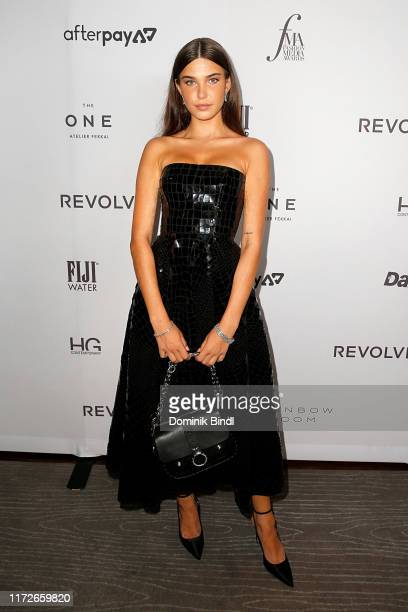 Charlotte D'Alessio attends The Daily Front Row's 7th annual Fashion Media Awards at The Rainbow Room on September 05 2019 in New York City