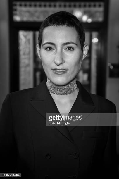 Charlotte Dauphin de La Rochefoucauld attends the red carpet of the closing night of the Taormina Film Festival on July 19 2020 in Taormina Italy