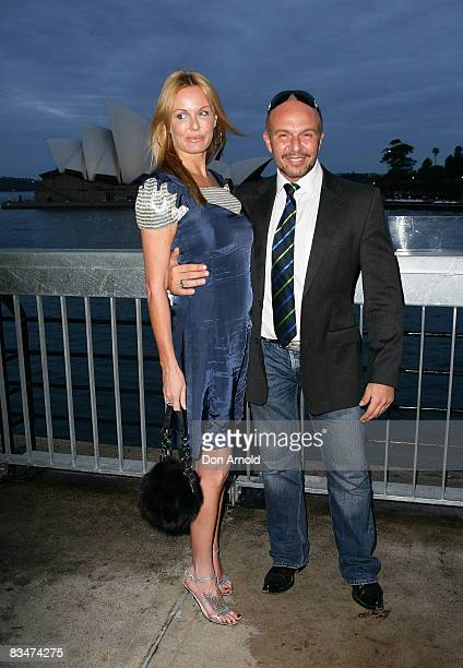 Charlotte Dawson and Alex Perry attends the 2009 MCN Upfront party celebrating upcoming programming available on FOXTEL via the Multi Channel Network...