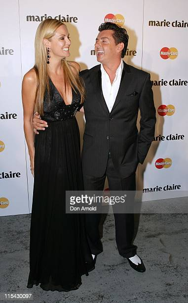 Charlotte Dawson and Alex ZabottoBentley during 2007 Marie Claire Awards at White Bay Studios in Sydney NSW Australia