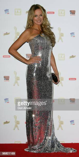 Charlotte Dawson arrives at the 52nd TV Week Logie Awards at Crown Casino on May 2 2010 in Melbourne Australia