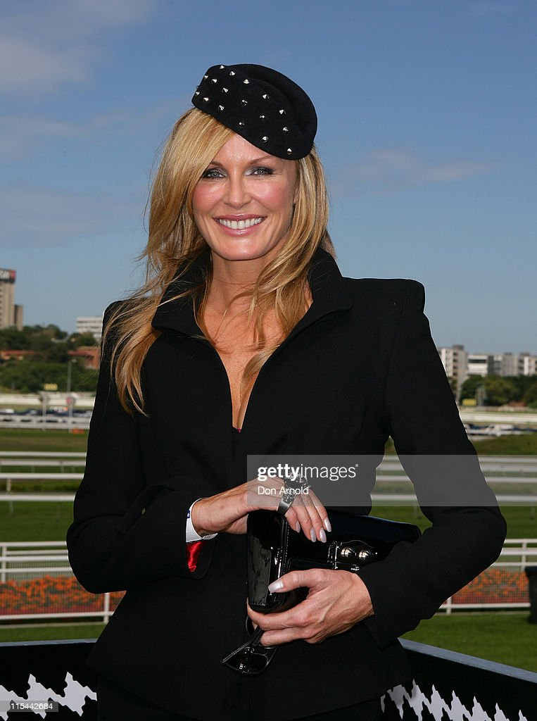 Charlotte Dawson attends Derby Day races at Royal Randwick Racecourse on April 10, 2010 in Sydney, Australia.