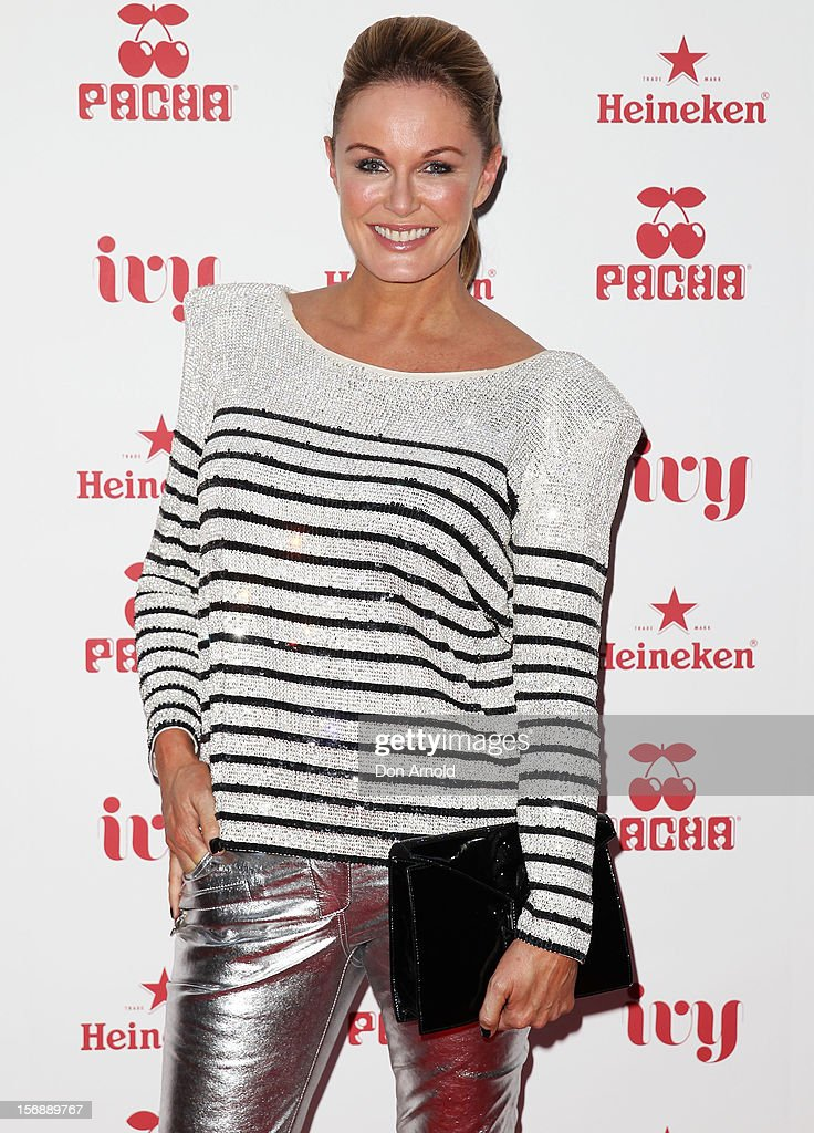 Charlotte Dawson poses at the Pacha Launch at the Ivy on November 24, 2012 in Sydney, Australia.