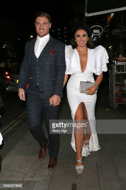 Charlotte Dawson seen attending National Reality TV Awards at Porchester Hall on September 25 2018 in London England