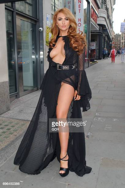 Charlotte Dawson sighting at the Dangerous Game film premiere on June 15 2017 in London England