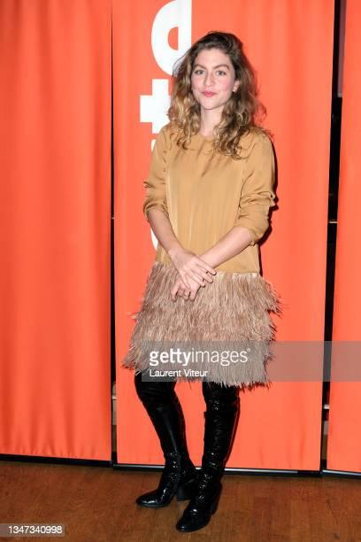 "Charlotte De Bruyne attends the ""H24"" Premiere At Cinema L'Arlequin on October 18, 2021 in Paris, France."