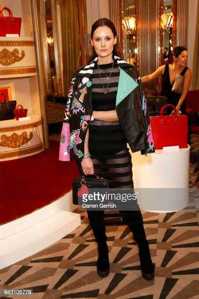 Charlotte De Carle attends the Aspinal of London Press Day on February 20 2017 in London England