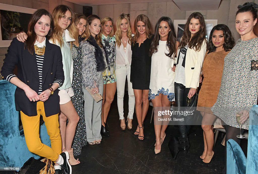 Millie Mackintosh Spring/Summer 2015 Collection Launch - Private Dinner