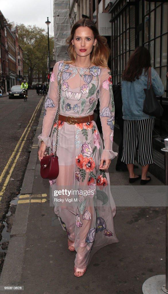 London Celebrity Sightings -  April 24, 2018