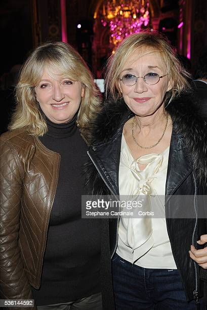 Charlotte de Turckheim and MarieAnne Chazel attend Paris Shopping and Fashion Capital Party at the Paris City Hall