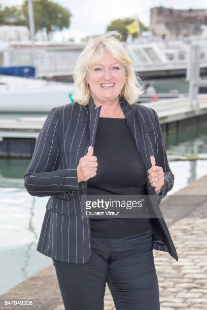 Charlotte de Turckheim attends La Loi de Valerie Photocall during the 19th Festival of TV Fiction at La Rochelle on September 16 2017 in La Rochelle...