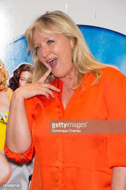 Charlotte de Turckheim attends 'Oh Mince' Paris Premiere at UGC Cine Cite des Halles on March 20 2012 in Paris France