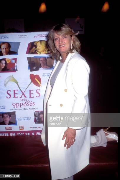 Charlotte de Turckheim during Sexes Tres Opposes DVD Launch Party at Club Med World Bercy in Paris France