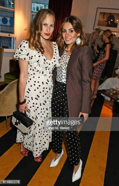 Charlotte Dellal and Marandi Narmina attend a private dinner hosted by Edward Enninful in honour of Giambattista Valli to celebrate the opening of...
