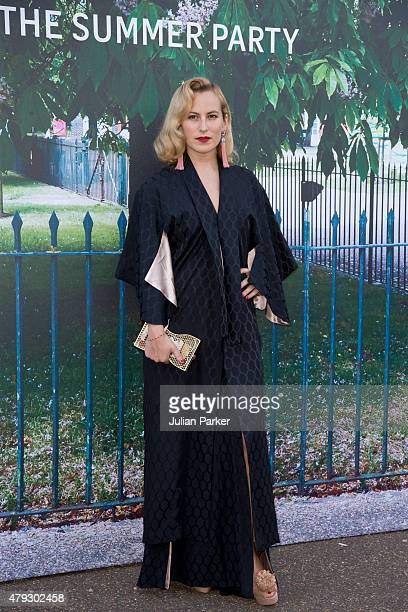 Charlotte Dellal arrives at The Serpentine Gallery summer party at The Serpentine Gallery on July 2 2015 in London England