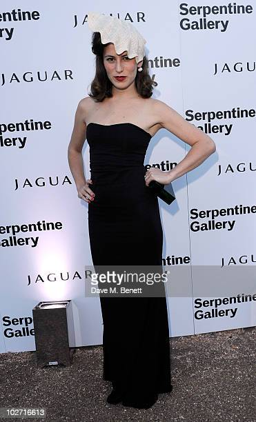 Charlotte Dellal arrives at The Serpentine Gallery Summer Party on July 8 2010 in London England