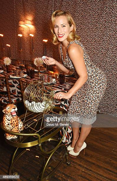 Charlotte Dellal attends a private dinner celebrating the Charlotte Olympia SS16 Collection during LFW at Daphne's on September 20 2015 in London...