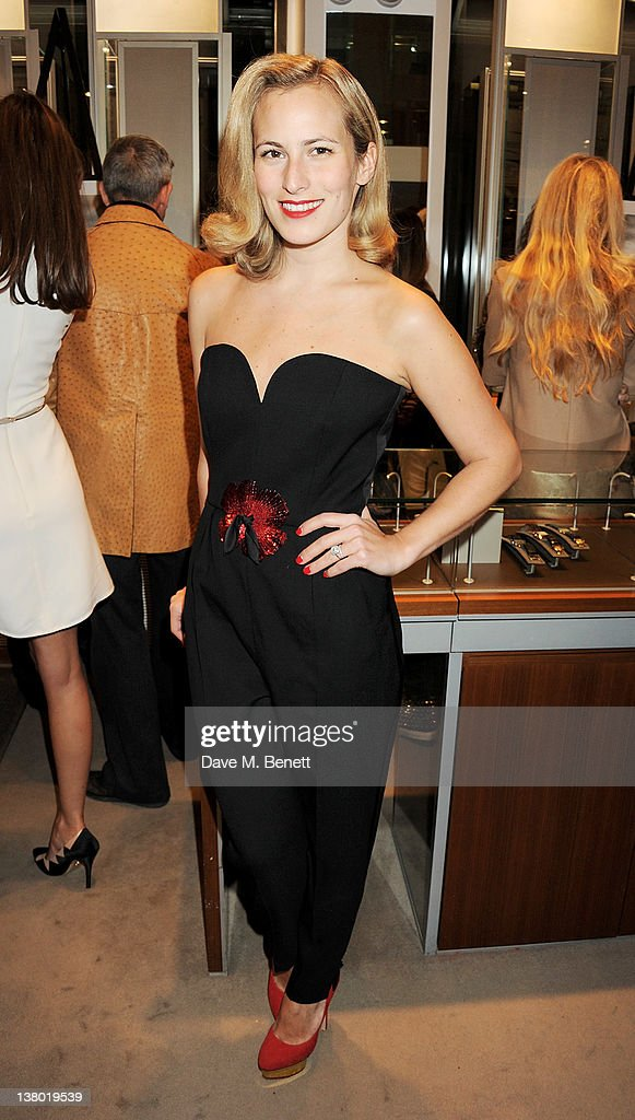 Charlotte Dellal attends a private viewing of 'Gaucho', a photographic exhibition by Astrid Munoz, at the Jaeger-LeCoultre Boutique on January 31, 2012 in London, England.