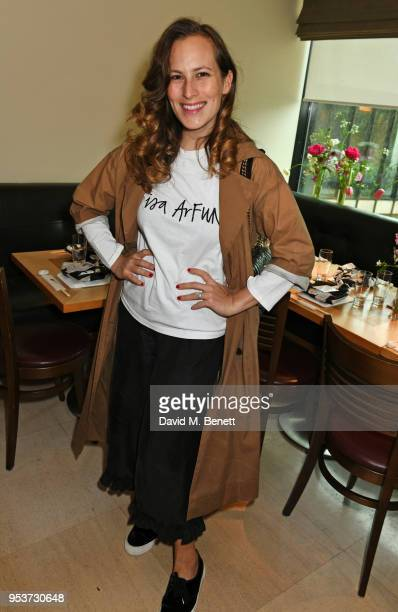 Charlotte Dellal attends an exclusive lunch at Nobu hosted by Serafina Sama celebrating the Isa Arfen Spring/Summer 2018 pop up at Liberty on May 2...