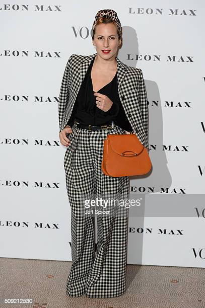 Charlotte Dellal attends at Vogue 100 A Century Of Style at the National Portrait Gallery on February 9 2016 in London England