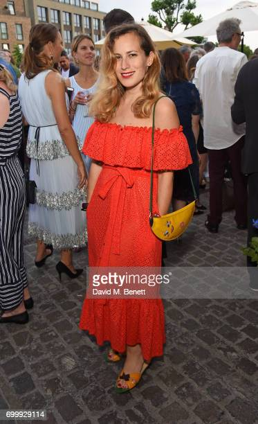 Charlotte Dellal attends British Vogue editor Alexandra Shulman's leaving party at Dock Kitchen on June 22 2017 in London England