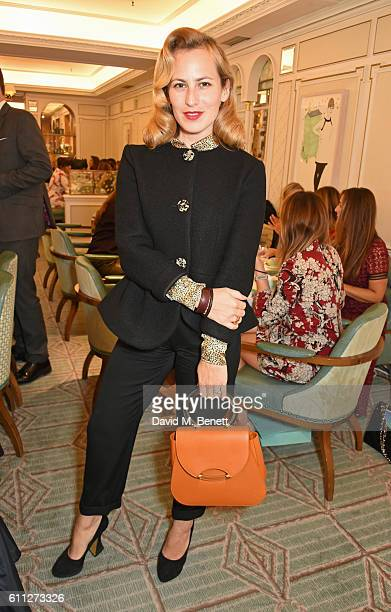 Charlotte Dellal attends the 3rd Annual Ladies' Lunch in support of the Silent No More Gynaecological Cancer Fund at Fortnum Mason on September 29...